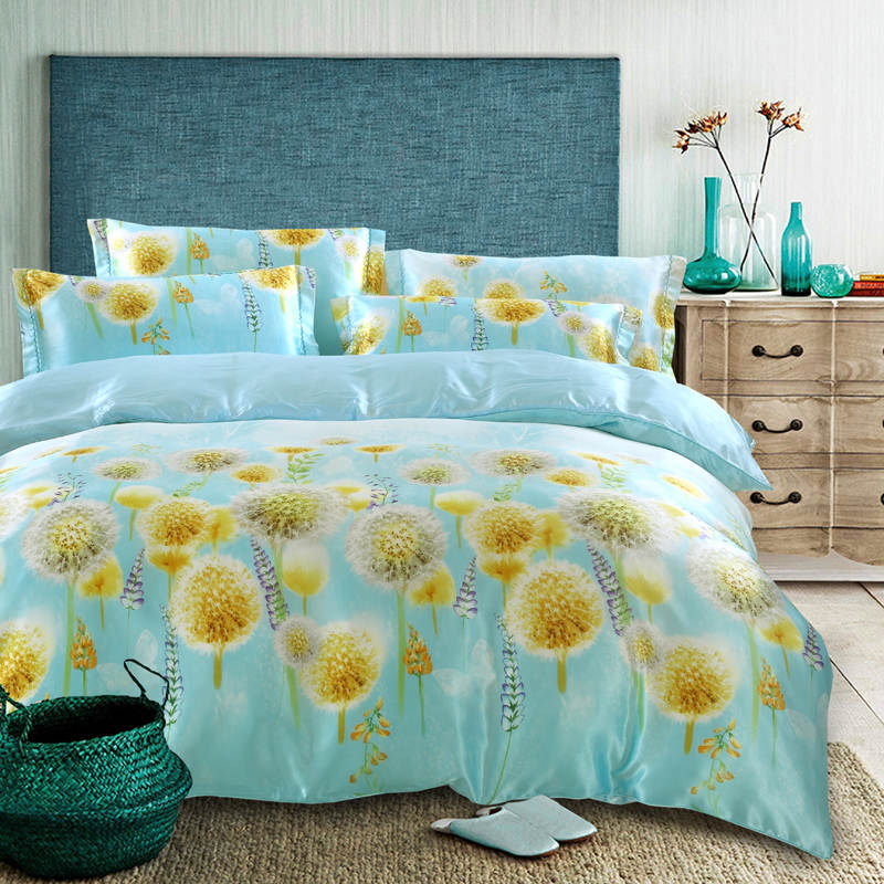 achetez en gros pissenlit housse de couette en ligne des grossistes pissenlit housse de. Black Bedroom Furniture Sets. Home Design Ideas
