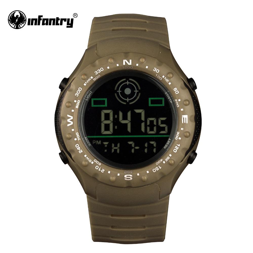 Aliexpress.com : Buy INFANTRY Mens Watches Reloj LED ...
