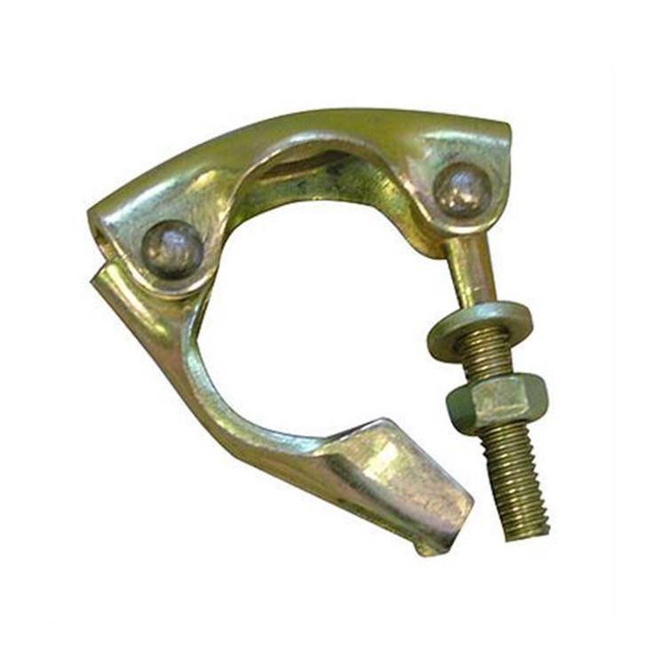 German drop forged swivel scaffolding sleeve coupler half clamp steel pipe t bolt
