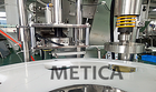 China Capping Machine Bottle China Manufacturer MTCP-100 Automatic Turn Table Screw Capping Machine And Bottle Capper