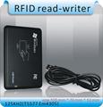 Free shipping 125KHZ access control card copier duplicator T5557 em4305 id card writer usb port