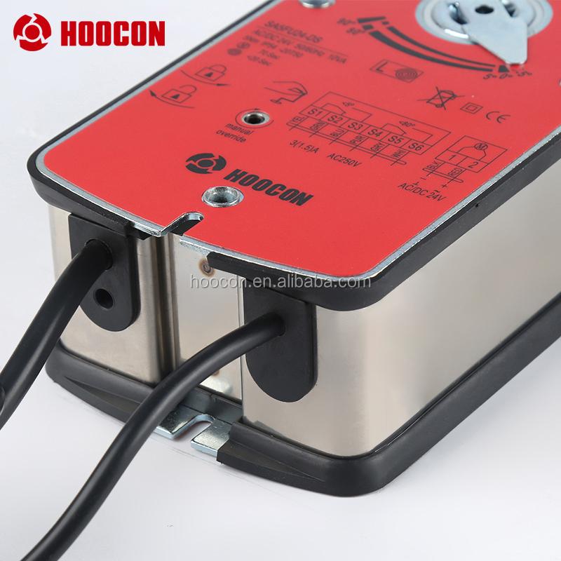 Привод амортизатора огня и дыма 5 нм со всеми доступными цветами