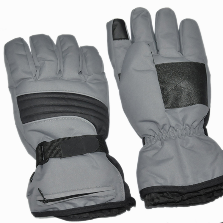 Screen operable 6 hours heating waterproof ski & motorcycle battery heated gloves