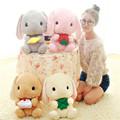 4 Styles Lovey Rabbit 40CM Bunny Plush Toys Kawaii Stuffed Animals Wedding Gift For Girls Kids
