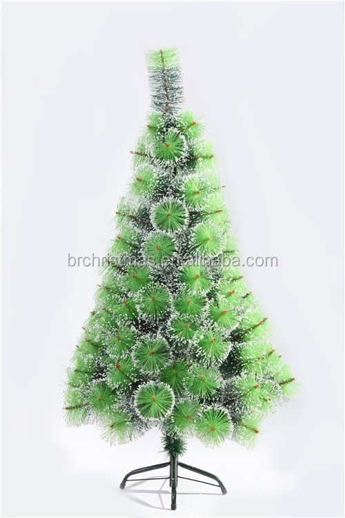 2 Ft To 10 Ft Pine Needle Christmas Tree With Snow Buy