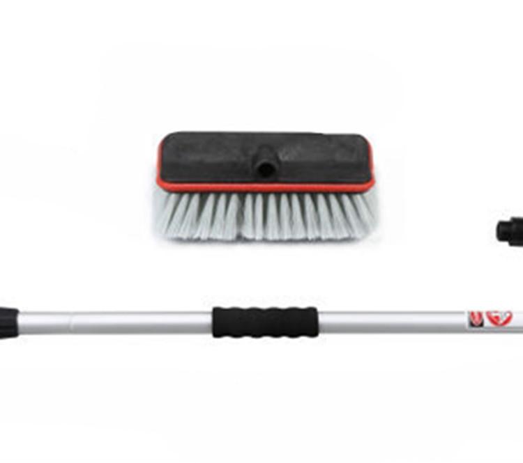 Щетка из пены для мытья автомобиля с алюминиевой ручкой