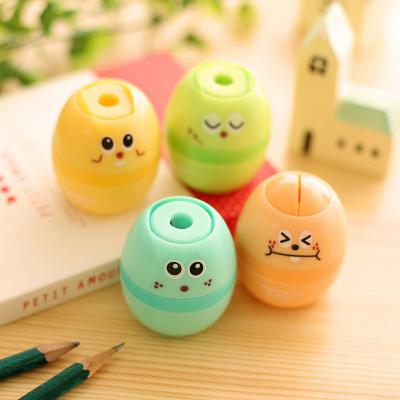 Careful Apontador Kawaii Shit Pencil For Sharpener Shape Cutter Knife Double Orifice Pole Piece Promotional Originality Gift Stationery Pencil Sharpeners
