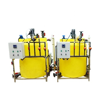 Chlorination and automatic chemical dosing system