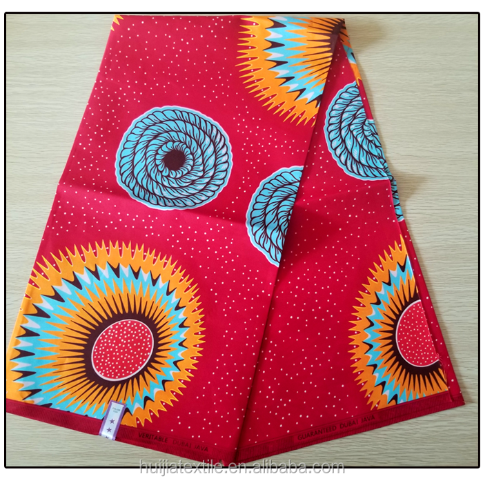 African wax print fabric Java designs Polyester wax prints fabric