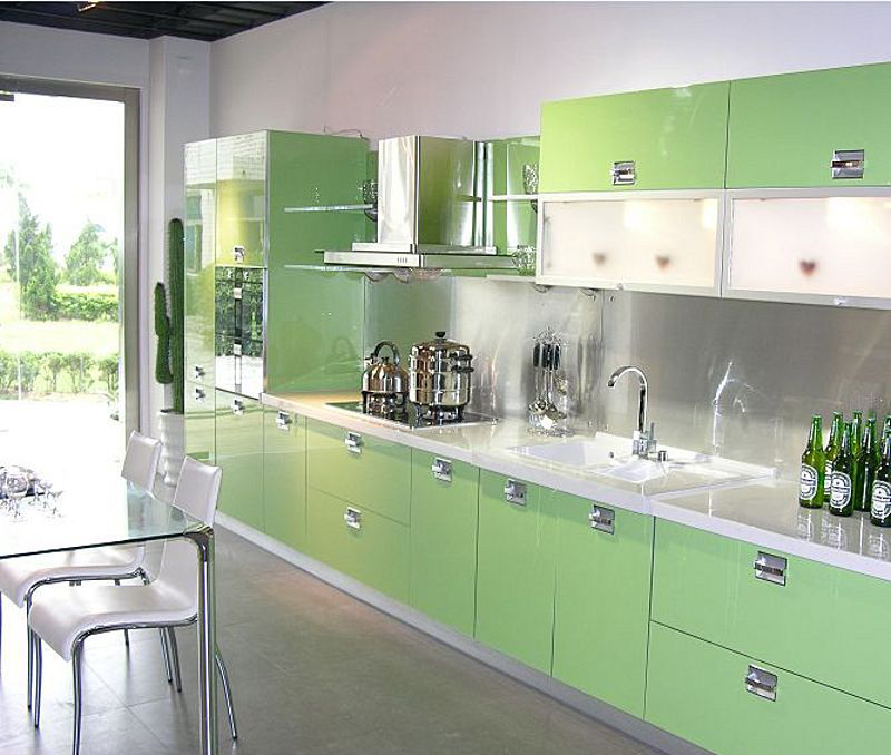 Simple Style Acrylic Kitchen Cabinets,Kitchen Cabinet