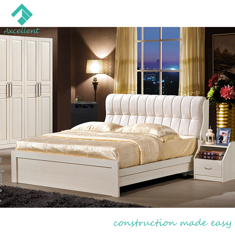 Soft Competitive Price Wooden Latest Double Bed Design Buy Wooden Bed Latest Double Bed Design Wooden Bed Design Product On Alibaba Com