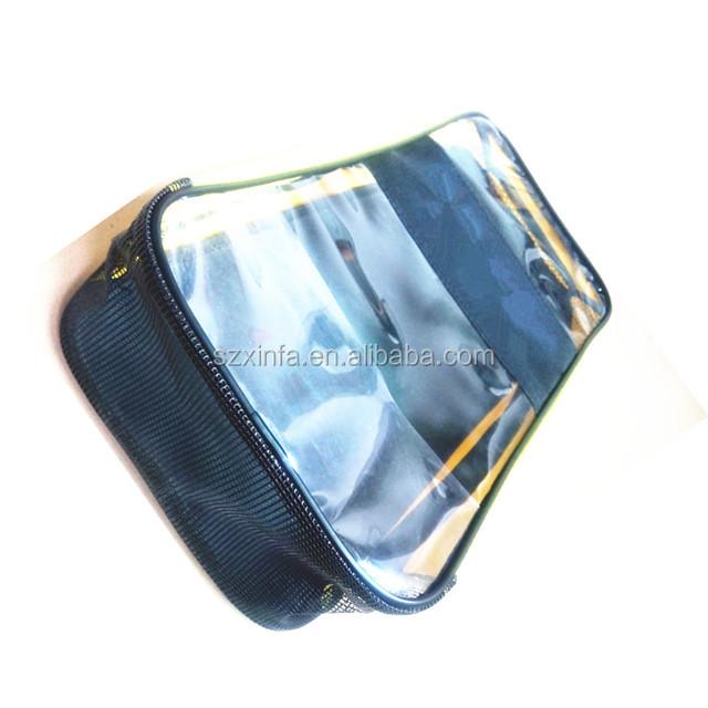 big large capacity Swimming diving sport mesh rectangle PVC bag