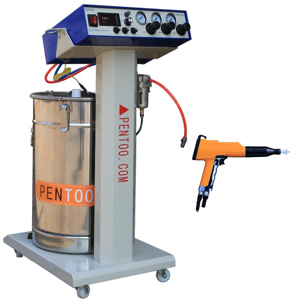 High performance Epoxy powder polyester powder electrostatic spraying machine coating gun