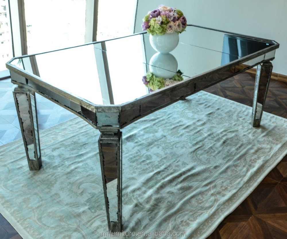 Antique Mirrored Dining Table Buy Wooden Frame Mirror Dining Table Long Mirrored Dining Table Antique Design Mirrored Dining Table Furniture Product On Alibaba Com