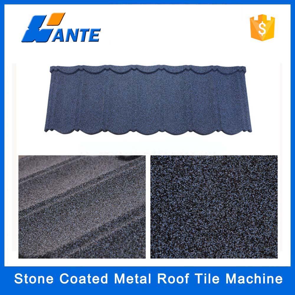 High Quality Aluminum Zinc Plate Colorful Stone Coated