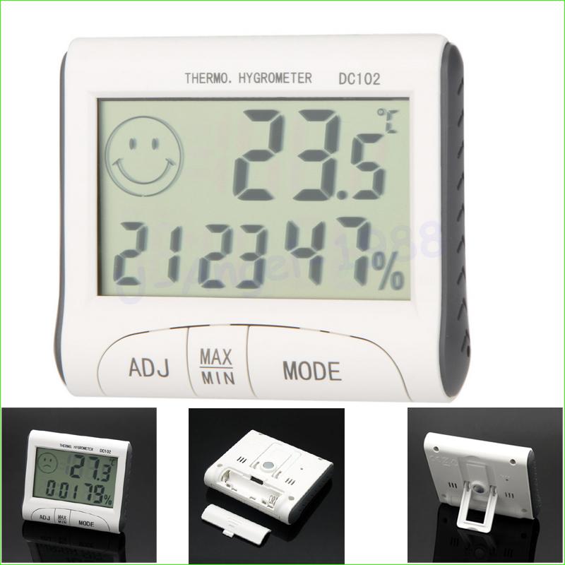 1pcs LCD Digital Thermometer Hygrometer Temperature