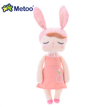 Metoo кукла и мягкие игрушки плюшевые животные мягкие детские игрушки для девочек и мальчиков подарок на день рождения Kawaii горячий 46 см кролик...(Китай)