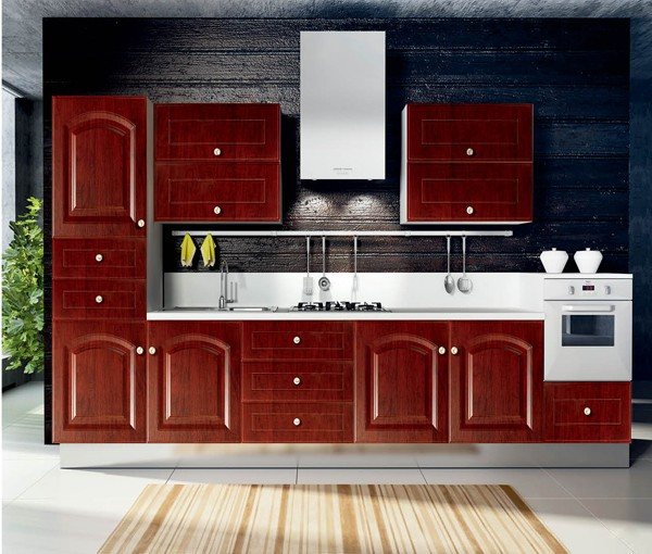 Kitchen Cabinets European Style: European Style Kitchen Cabinet With Pvc Doors