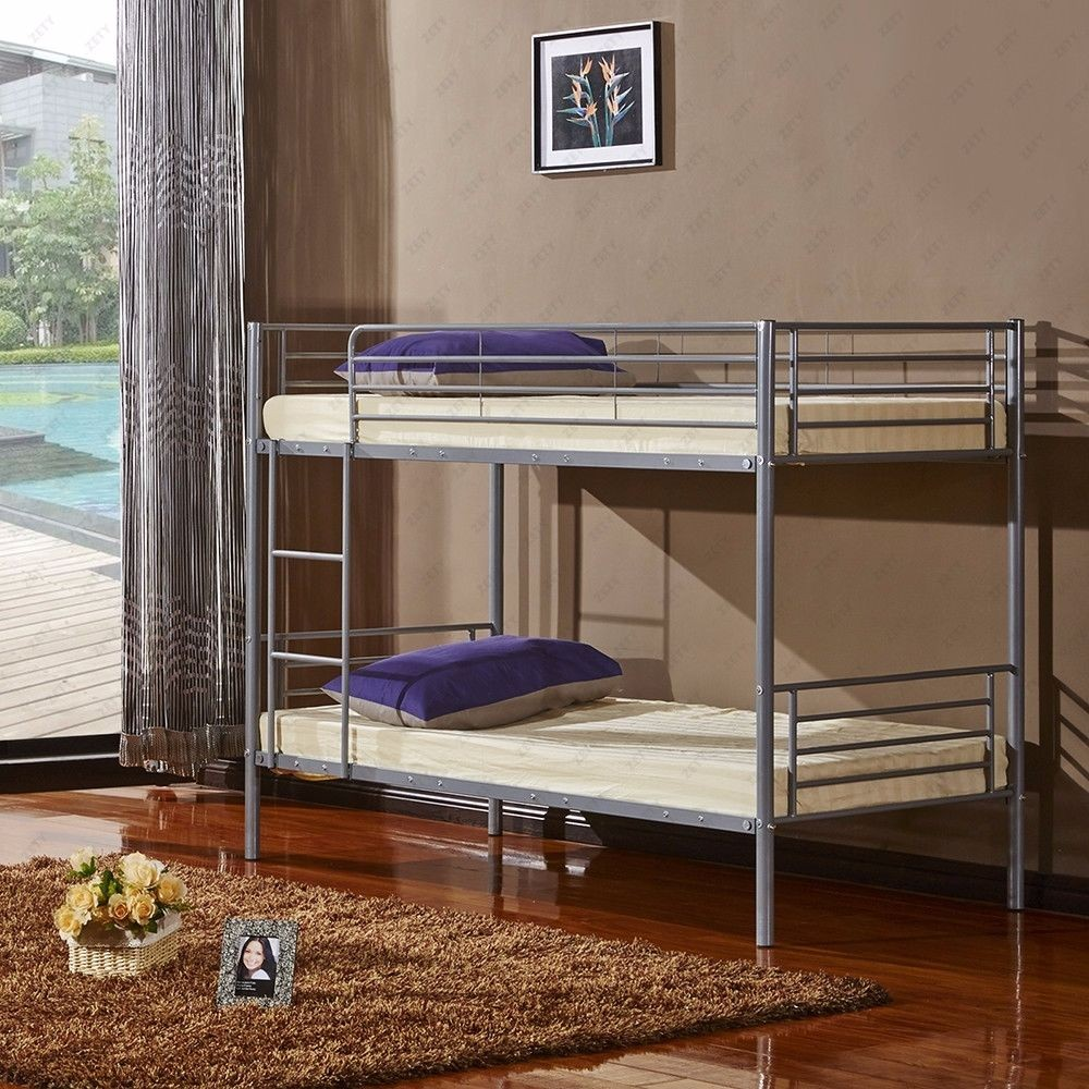 Wholesale Latest Double Bed Design Double Deck Bed Metal Bunk Bed For Two Children With Stair Buy Lastest Double Bed Design Double Deck Bed Metal Bunk Beds Product On Alibaba Com