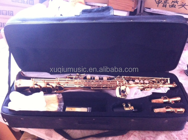 New Professional Gold Bb /Eb Alto Saxophone with accessories