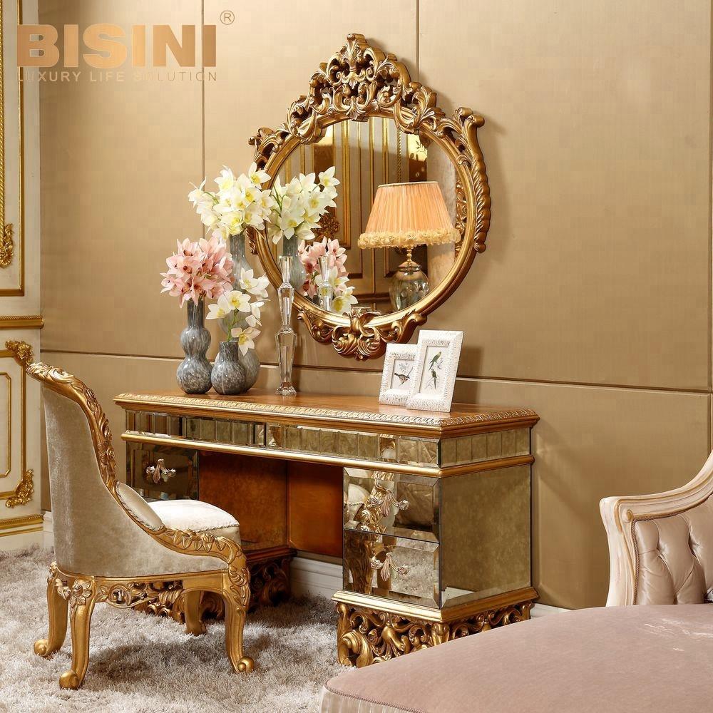 Bisini Antique Vanity Dresser With