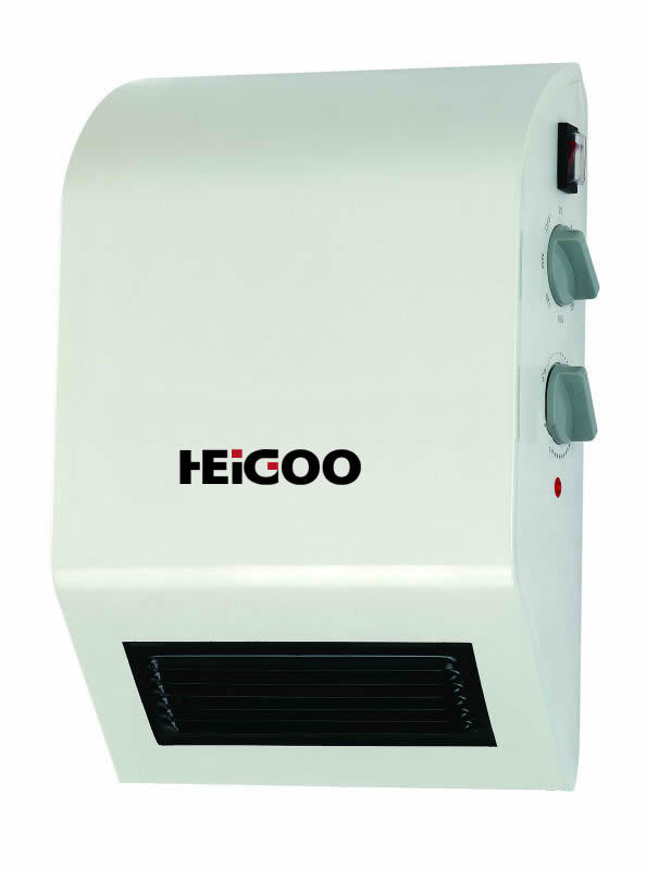 Waterproof wall mounted bathroom convector heater in - Electric wall mounted heaters for bathrooms ...