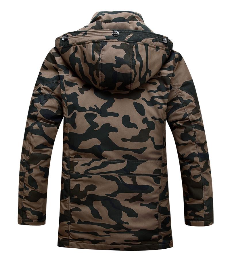 2016 men fashion camouflage print winter coats jackets brand down parkas slim hombre blouson. Black Bedroom Furniture Sets. Home Design Ideas