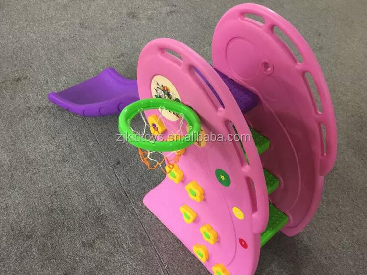 Новый пункт пластиковые горки с обручем для детей