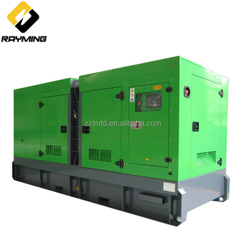 Full Service Silent Soundproof 400KW Diesel Genset For Apartment Building