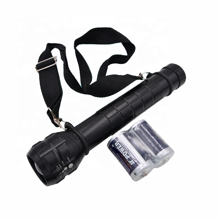 Compass Strap 3 D Battery LED Torch H//D Alloy with Zoom