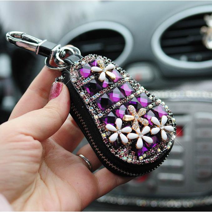 Five flower boutique key case,fashion key case wholesale,car accessories wholesale