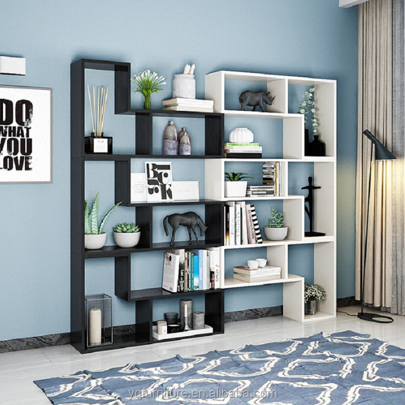Bookcase Bookshelf Free Combination Bookcases Antique Frame Partition