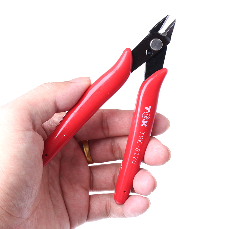 China Factory Wholesale High carbon steel pliers Wire Cable Cutters Cutting Side Snips Flush Nipper Pliers