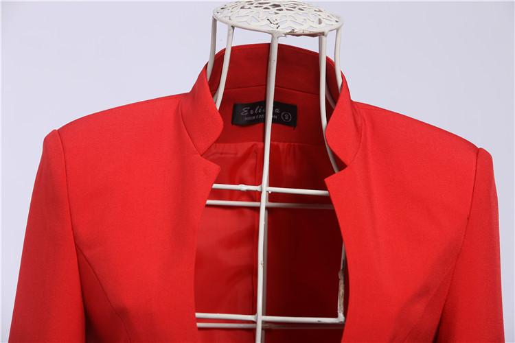 334128fce0b 2019 Wholesale New Elegant Red 2015 Feminino Autumn Winter Women ...