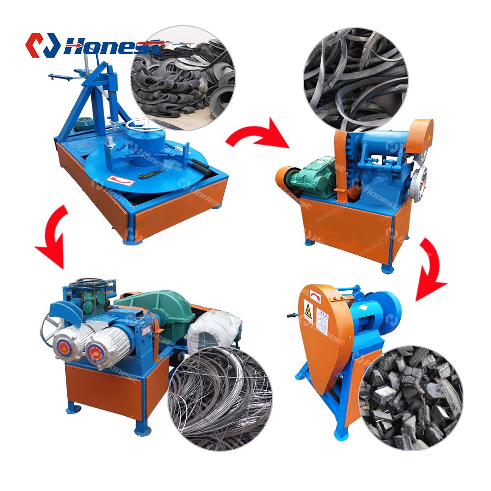 Машина для переработки резиновых порошков