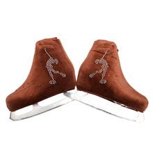 24 цвета для детей и взрослых бархатная обувь для фигурного катания на коньках для катания на роликах, тканевые аксессуары для катания на кон...(Китай)