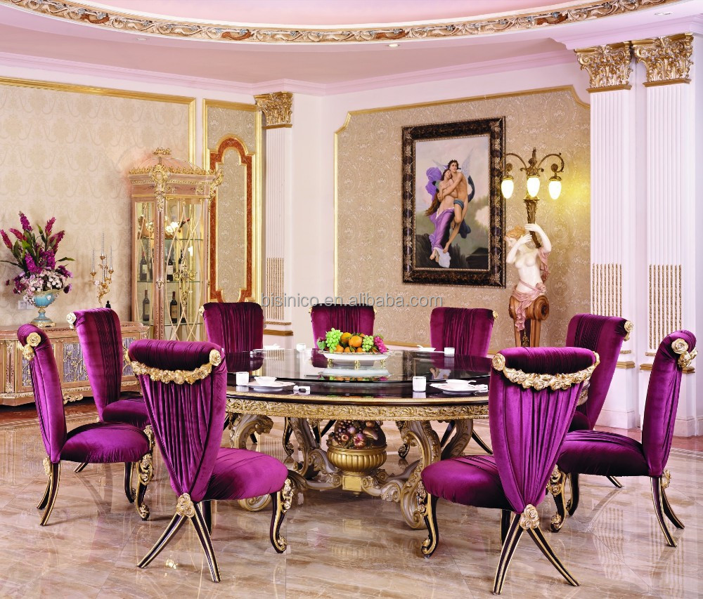 French Dining Room Furniture: French New Classic Dining Room Furniture/Luxury Wood