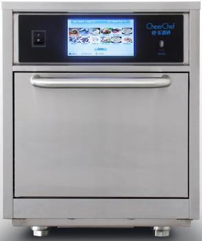 high speed commercial oven with 15 times faster cooking speed , micro+convection+impinged air+catalytic converter+smart menu