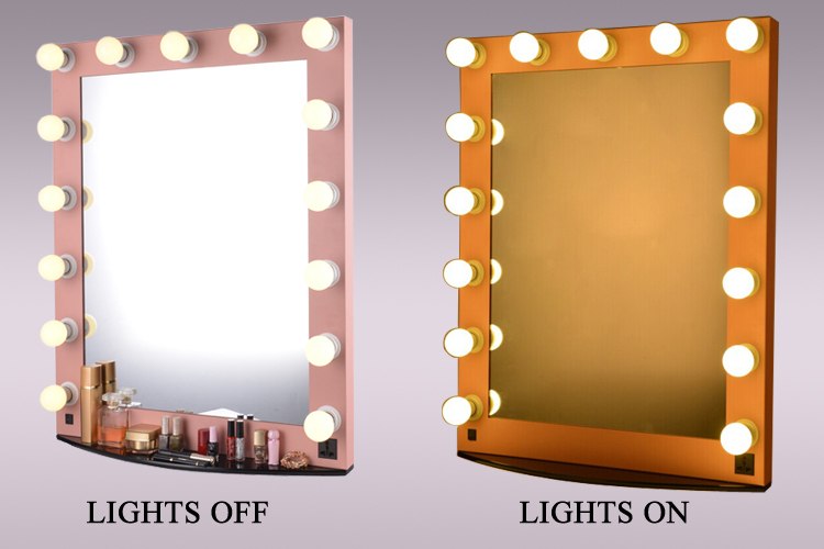 fantaisie salon lumineux hollywood miroir de maquillage. Black Bedroom Furniture Sets. Home Design Ideas