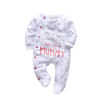 2019 Hot Selling New Born Baby Clothes Baby Rompers 100% Cotton Baby Boy Clothes