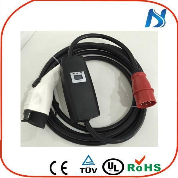 32а sae j1772 подключить автомобиль электрический автомобиль частей для рынка электрической машины sae адаптер Оптовая продажа, изготовление, производство