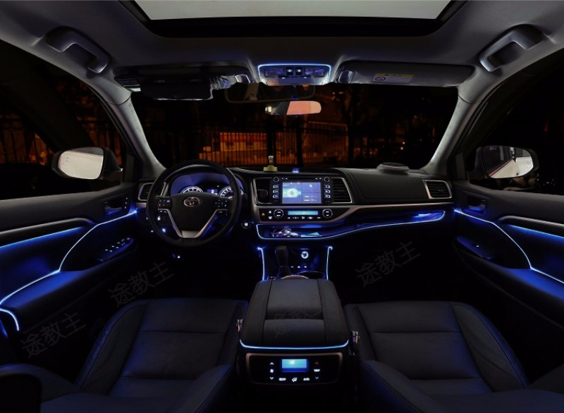 For Volvo Xc90 2002 2014 Car Interior Ambient Light Panel