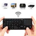 New Black 3 in 1 Rii mini X1 Handheld 2 4G RF Wireless Keyboard Qwerty With