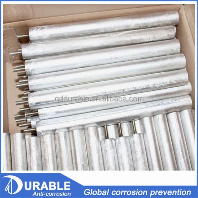 Залитые аноды магниевого стержня AZ63B для водонагревателей