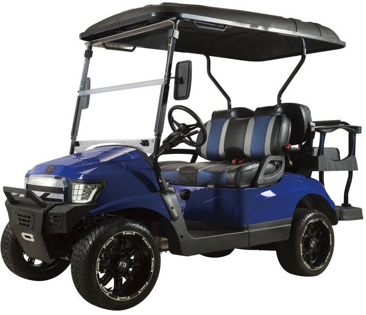 CE certification New road legal electric golf cart farm utility electric vehicle with rear seat