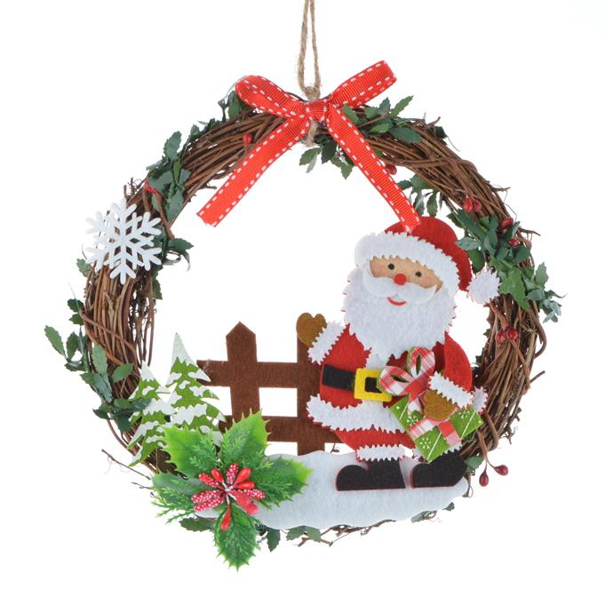 Рождественская гирлянда из войлока ручной работы любого цвета, украшения оптом, Рождество