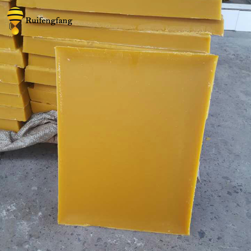 Жёлтая пчелиная восковая плитка, блок пчелиного воска для свечей, косметика