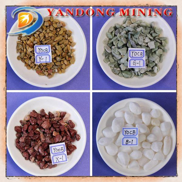 Натуральный Цветной Камень для продажи/производство гальки