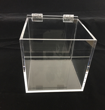 2020 Customized Small Clear Acrylic Display Boxes