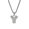 Letter Y, Gold, SIlver, Rose Gold, 3 colors to choose